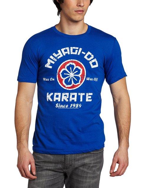 Unisex Camisa Da Forma T dos homens Clássicos Americanos Karate Kid Miyagi Fazer T-Shirt Nova Camisa 2016 Da Forma T Dos Homens