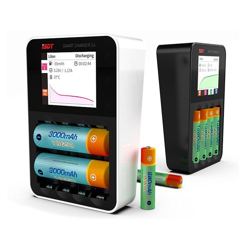 ISDT C4 8A Сенсорный экран Смарт-зарядное - Радиоуправляемые игрушки