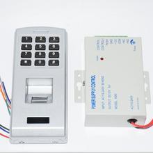 Lock-System Access-Control-Reader with Power-Supply-Adapter 12V 3A Fingerprint Password-Keypad