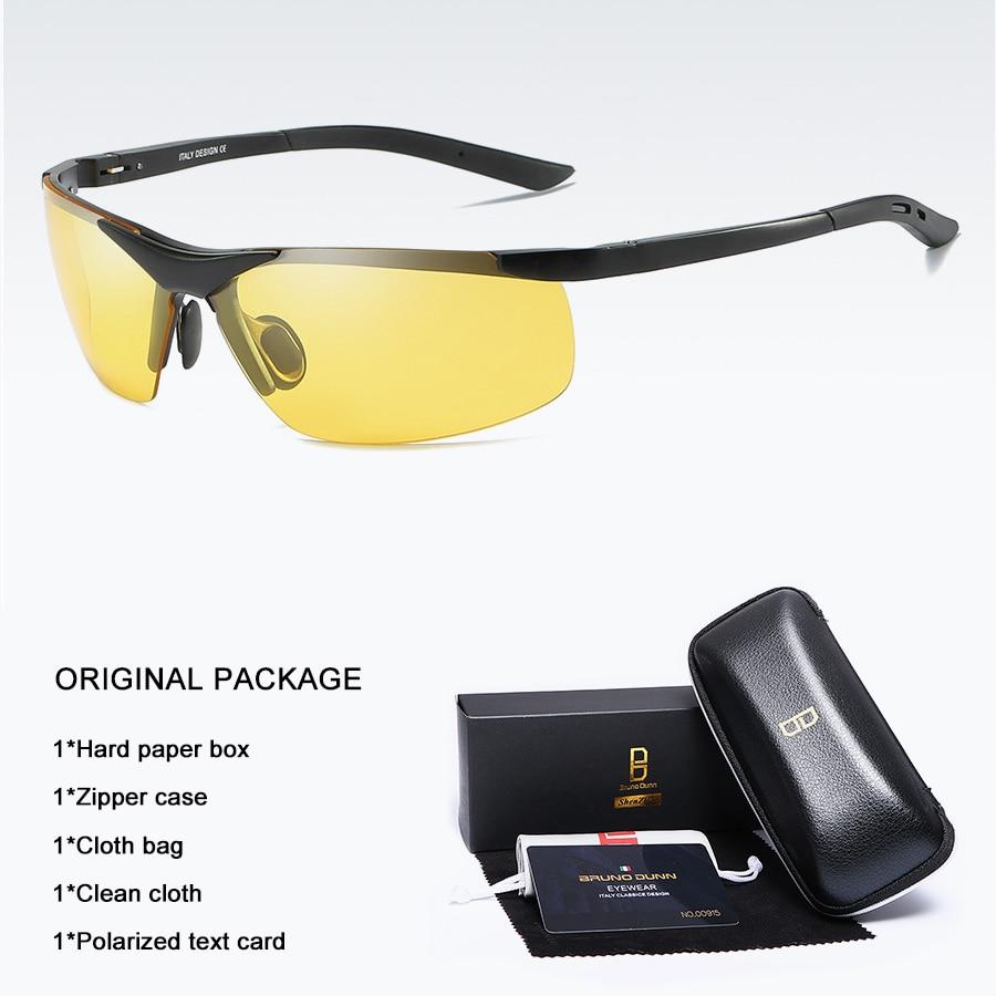 Bruno dunn 2020 Men Sunglasses Polarized uv400 high quality oculos de sol masculino oversized sunglases lunette soleil homme 16
