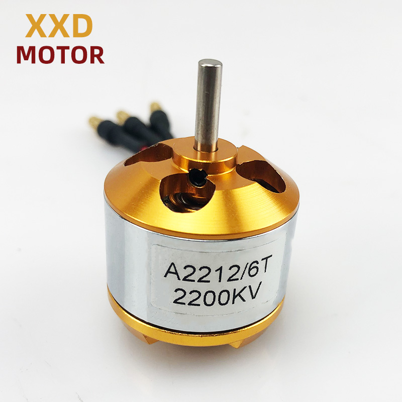 Новый бесщеточный двигатель XXD A2212 930KV/1000KV/1400KV/2200KV/2700KV для квадрокоптера и радиоуправляемого самолета, 1 шт.