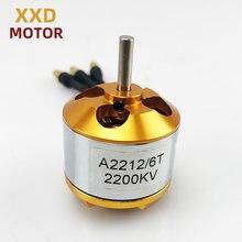 1 pièces nouveau moteur sans brosse XXD A2212 930KV/1000KV/1400KV/2200KV/2700KV pour Multicopter Quad rotor et avion RC