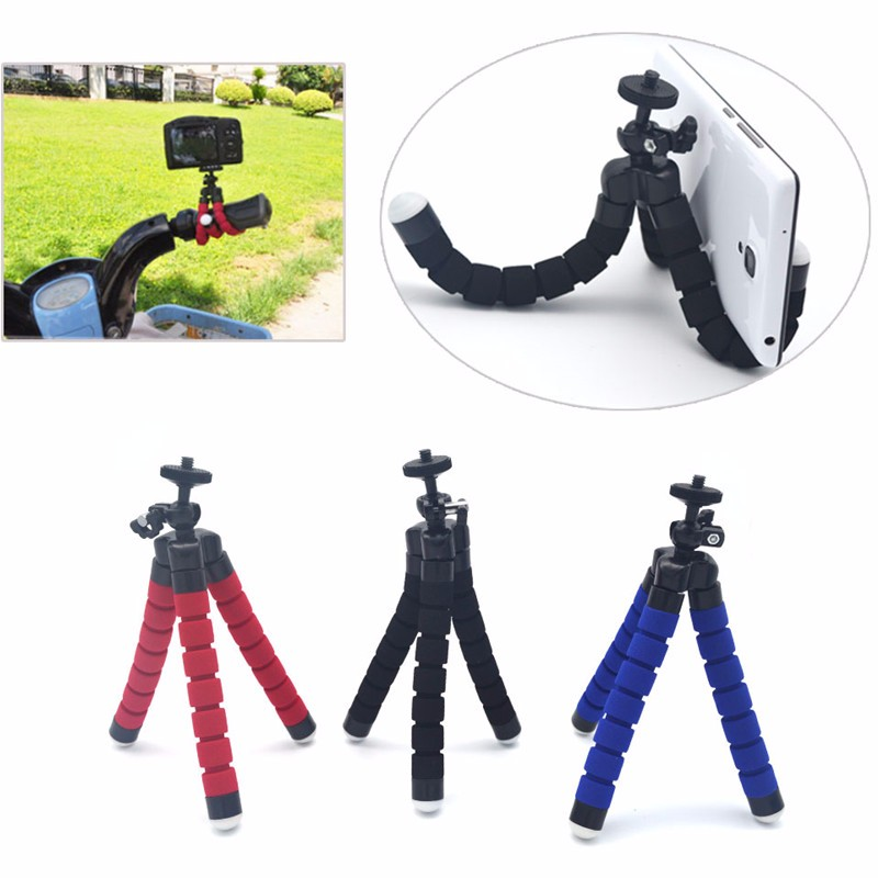 Hot Sale Car Phone Holder Flexible Octopus Tripod For Xiaomi Redmi Note 3 for xiaomi Pro for xaiomi 5 5s Note 2