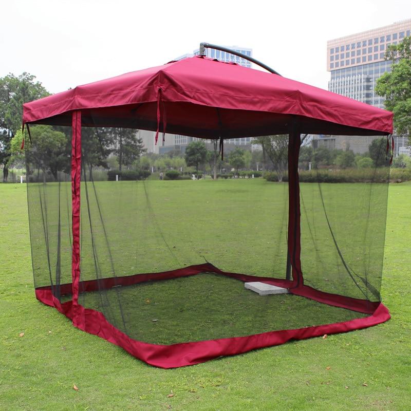 Outdoor umbrellas large umbrella square patio mesh ...