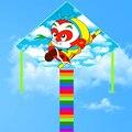 O envio gratuito de alta qualidade Macaco Rei pipa 20 pçs/lote criança brinquedos que voam nylon ripstop pipa com linha de pipa pega wei polvo