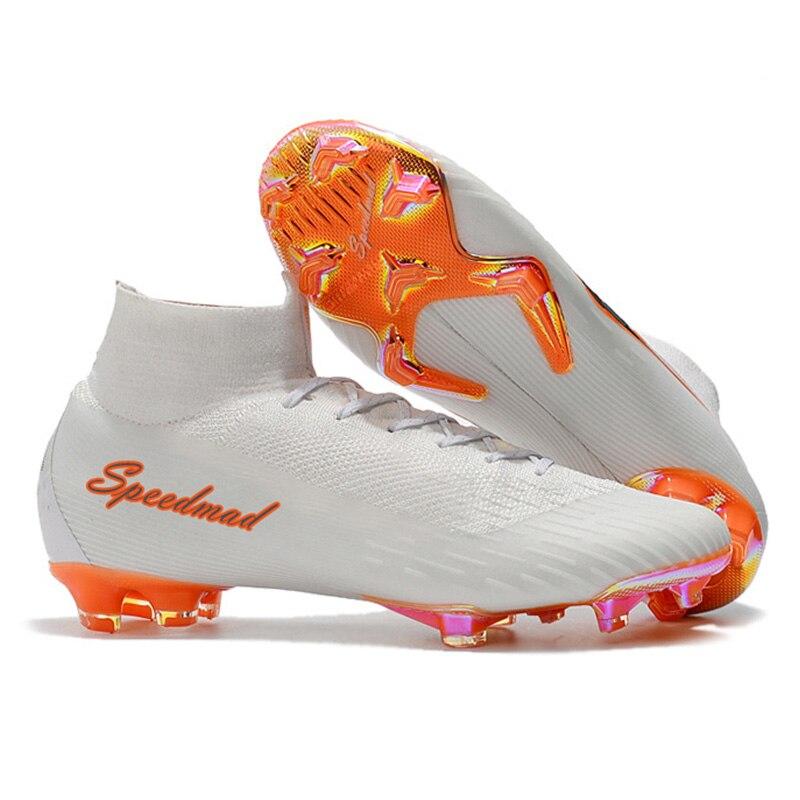 font b Football b font Shoes Men CR7 Soccer Cleats Original Superfly VI FG font