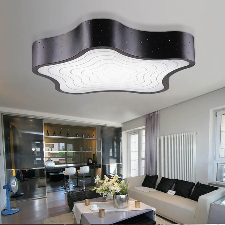 Modern creative led ceiling light for living room bedroom modern creative led ceiling light for living room bedroom rectangular led lamp atmospheric home light ideas ikea lamp in ceiling lights from lights aloadofball Images