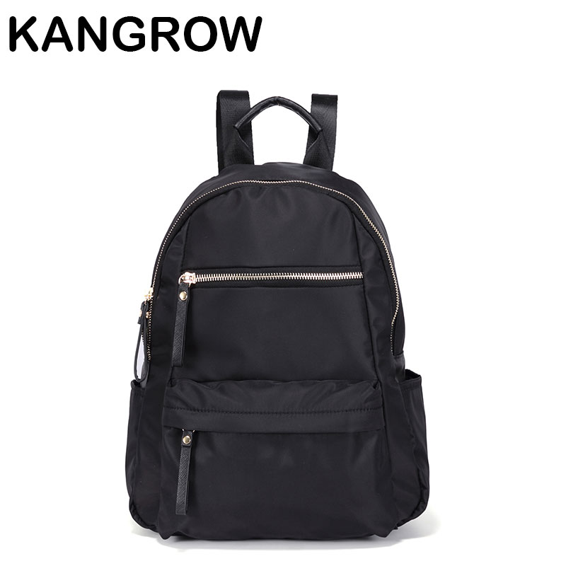 Kangrow Red Women s Backpacks Women Fashion Backpack Red Solid School Bags for girls