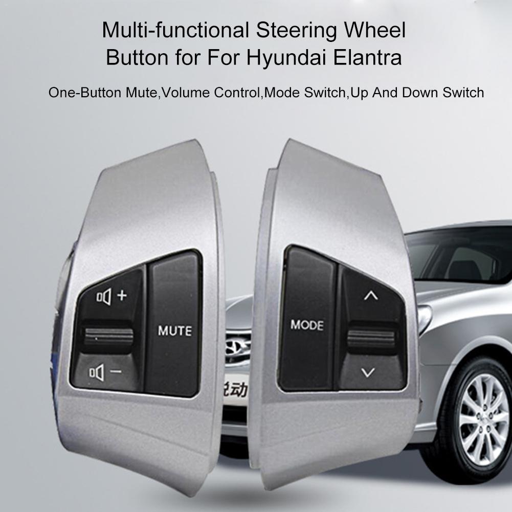 Reparação de Acessórios De Modificação do carro Atualizado Modificado Multi  funcional Botão do Volante Para Hyundai Elantra em Volantes   Cubos de Roda  Da ... 9f59b38bb1d32