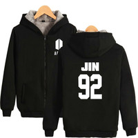 BTS ARMY Hoodies Harajuku All Member Kpop New Fans Cotton Cap Hooded Autumn Hoodies Women Sweatshirt Clothes Plus Size
