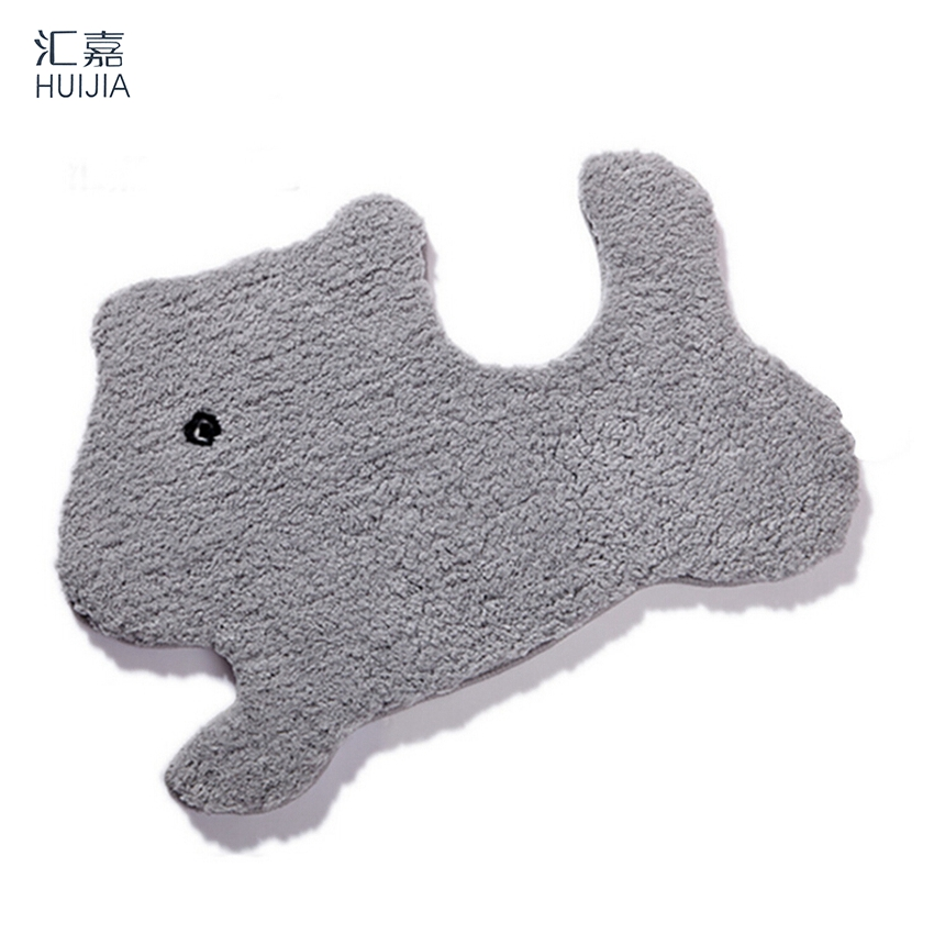 Cute Animal Shape Microfiber Door Mat Non Slip Soft Rug And Carpet For  Living Room Kitchen High Quality FloorMat Super Absorbent