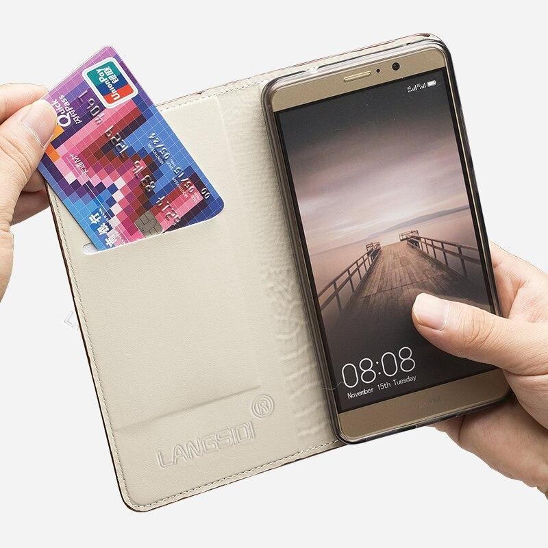 Housse pour Samsung a5 a7 a8 j5 j7 pro étui en cuir S6 S7 bord S8 S9Plus luxe 3d robinet Note8 9 - 3