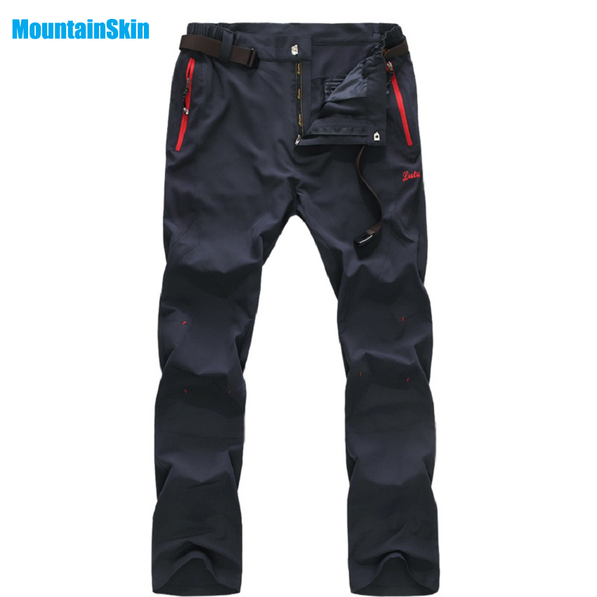 2017 Mountainskin Men s Quick Dry Pants Outdoor Sports Brand Summer Clothing font b Camping b