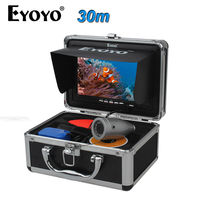 EYOYO Original Full Silver HD 1000TVL 30M Underwater Fishing Camera Ice Boat Fish Finder 7 TFT