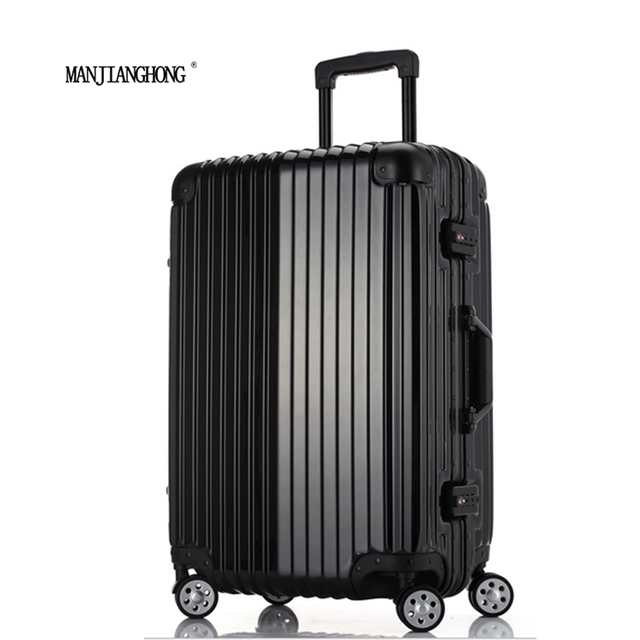 20Inch New High Quality Trolley Case TSA Lock Hook PC + ABS aluminum frame Spinner Wheels Rolling Luggage Case Hardside Suitcase
