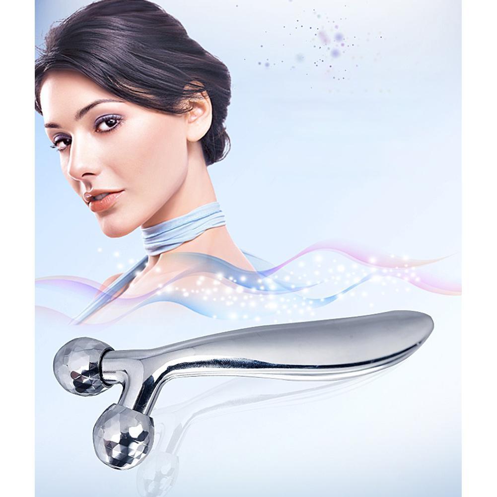 Dr. aelf masseur à rouleaux de levage visage masseur à rouleaux en forme de Y outil de beauté Instrument de Massage du visage