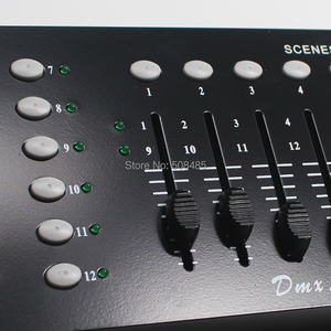 Image 4 - NEWEST 192 DMX Controller DJ Equipment DMX 512 Console Stage Lighting For LED Par Moving Head Spotlights DJ Controlle