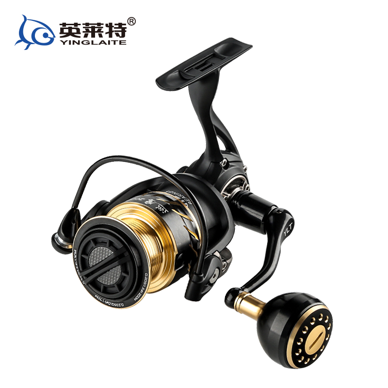 2017 New Full Metal body size 2000 spinning reel saltwater reel bass reel lure fishing reel carbon drag washers plueger supreme spinning fishing reel lightweight full metal body 7 1bb 5 2 1 6 2 1 lure fishing tackle accessory spinning reel