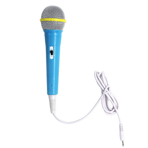 Image 3 - Kids Boy Girl Christmas Gift Wired Microphone Musical Instrument Singing MIC Children Funny Gift Music Toy Microphone Toy