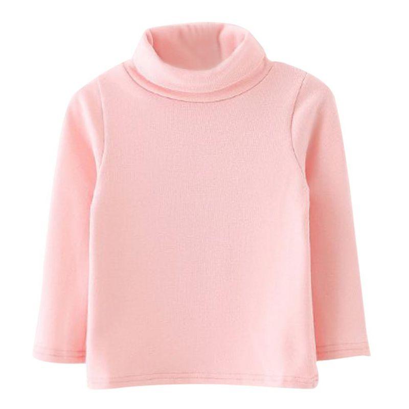 Зимняя детская одежда футболки для девочек футболка с длинным