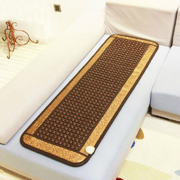 Best Selling in Thailand Germanite Pad Tourmaline Heating Mattress Ocher Sofa Cushion Thermal Ocher Mat 50*150CM 220V цена 2017