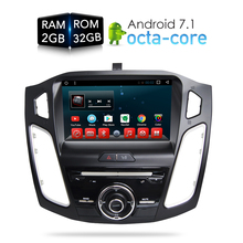 цена на Jasco Car CD DVD Player GPS Navigation Android 6.0 for Ford Focus 2012 2013 2014 2015 9