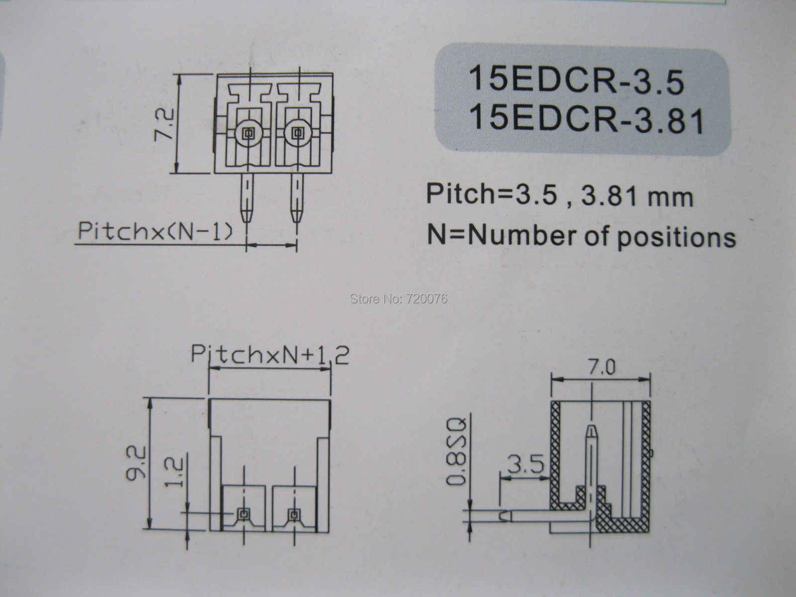 12 шт. винтовой клеммный блок разъем 3,5 мм Угол 4 pin/способ зеленый подключаемый Тип