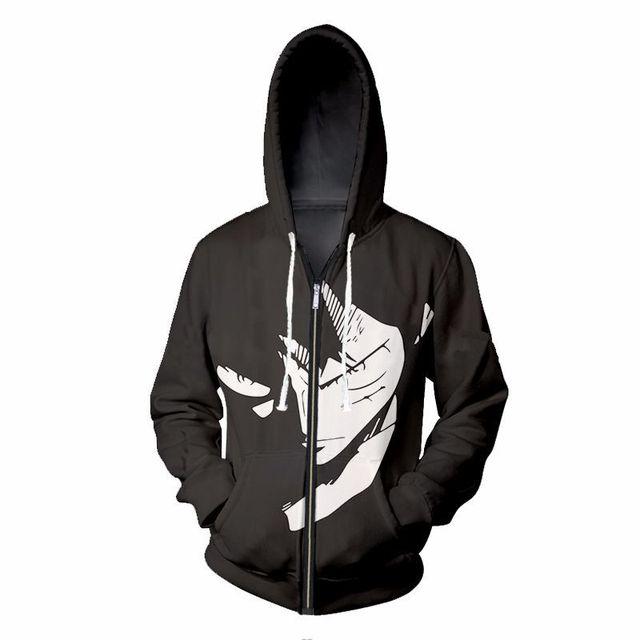 c5477feec559 Fans Wear Hoodies One Piece Monkey D. Luffy Sweatshirt 3d Printed Roronoa  Zoro Cosplay Hooded Sweatshirts Men Hoodie Polyester