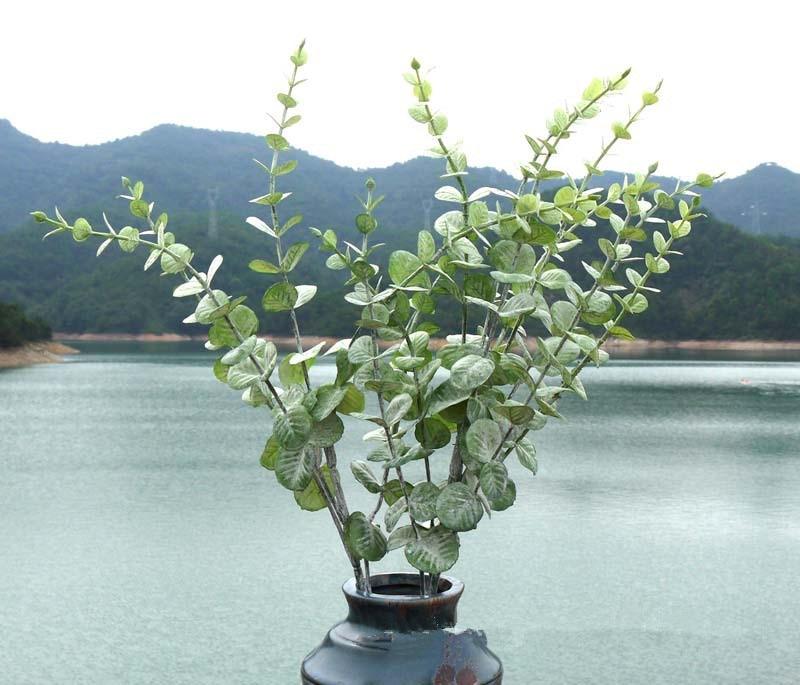 2pcs/lot home hotel office decoration good quality artificial plants Quality Fake Plants
