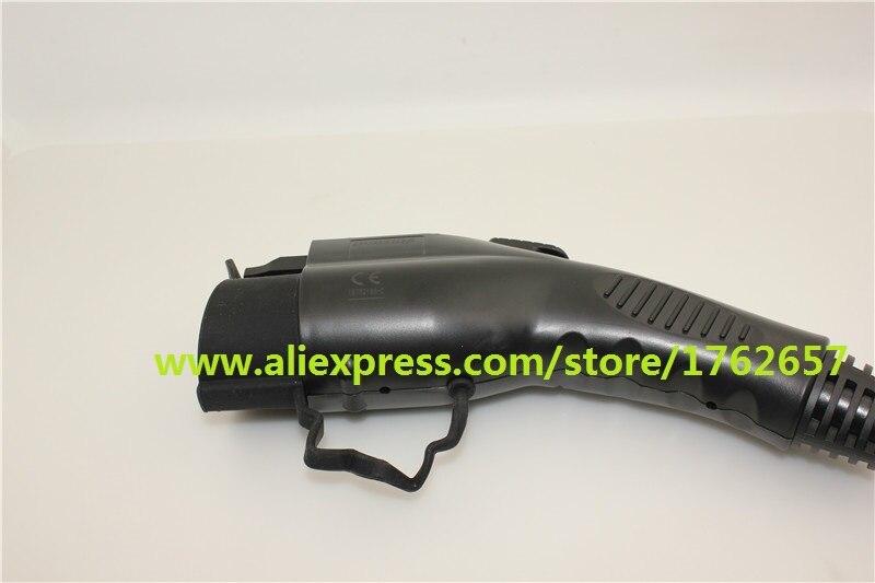 Duosida Dostar 16A EV штекер черный SAE J1772 тип 1 Женский Мужской Разъем для электромобиля зарядная станция