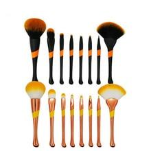 8Pcs/set Makeup Brushes Tools Kit Power Foundation Blush Eye Shadow Blending Fan Cosmetic Beauty Make Up Brush Maquiagem цена в Москве и Питере