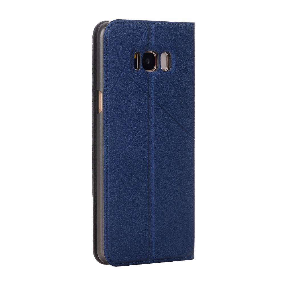Image 5 - FDCWTS Leather Flip Cover Case For Samsung Galaxy S8 Case plus Protective Wallet Phone Cover for Galaxy S8 Plus Coque-in Flip Cases from Cellphones & Telecommunications