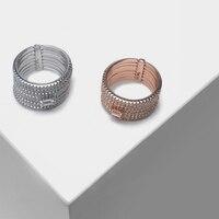 Amorita boutique Round multi layer design fashion ring
