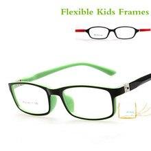 Оптические очки, оправа для детей, для мальчиков и девочек, близорукость, оправа для очков с линзами 0 градусов, простые зеркальные очки для детей, унисекс, 8804