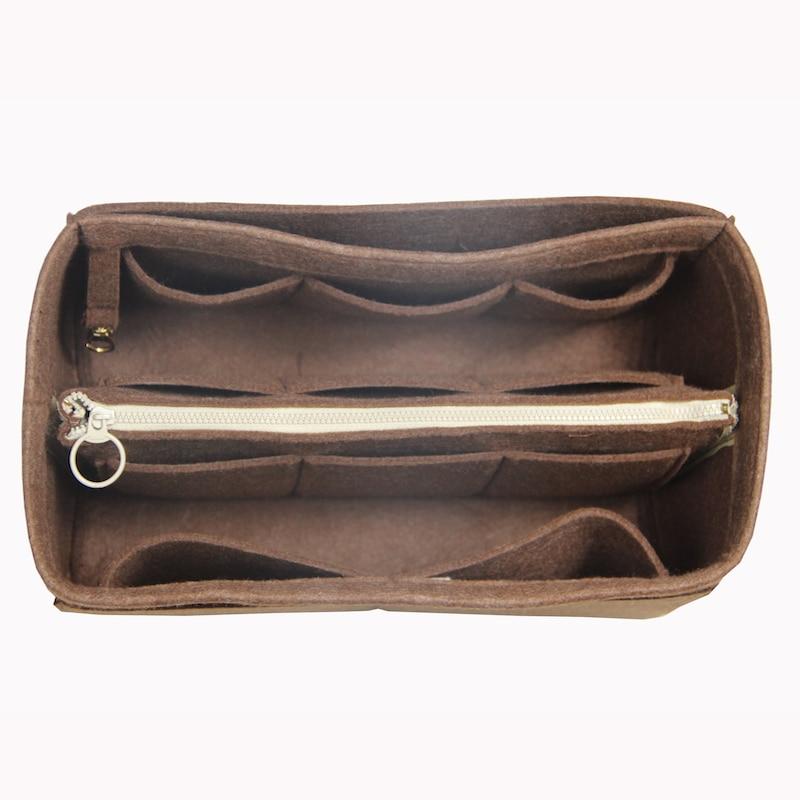 9c6c1ca38 Fits Neverfull MM GM PM Speedy 25 30 35 40 Customizable Felt Purse  Organizer Bag in Bag Insert Bag Organizer Tote Diaper Handbag-in Cosmetic  Bags & Cases ...