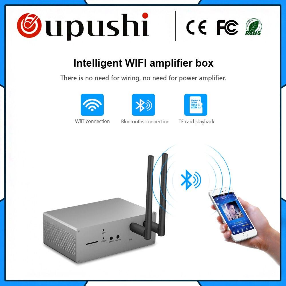 US $58.0  MUZO Intelligent Wifi Amplifier Box Wifi Module No need Wiring on