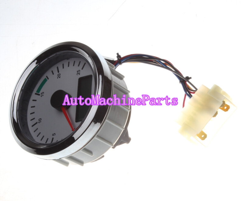704/50227 Tachometer Gauge Tacho and Hourmeter for JCB 2CX 3CX 4CX