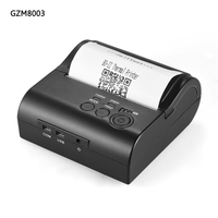 Mini 80mm IOS Android Bluetooth Thermal Printer 80mm Portable Bluetooth IOS Thermal Receipt Printer Bluetooth Android GZM8003