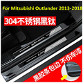 Автомобильный Стайлинг из нержавеющей стали порог для порога Накладка панель Kick шаг протектор Порог для Mitsubishi Outlander 2013-2018