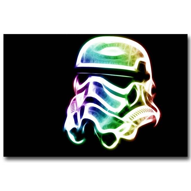 Плакат гобелен шелковый Звездные воины Штурмовик