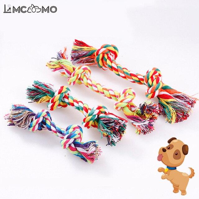 1 pz Nuovo Animale Domestico Giocattoli di Masticazione Del Cane Corda di Cotone