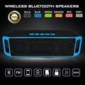 Speaker portátil sem fio bluetooth estéreo 4.0 subwoofer alto-falantes do boombox mic embutido dual bass sound box suporte tf/usb/fm