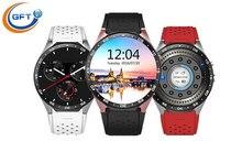 GFT smart watch KW88 font b smartwatch b font sim with wifi 3g net heart rate