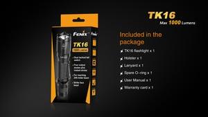 Image 5 - 2018 Новый Fenix TK16 Cree XM L 2 (U2) светодиодный фонарик 5 режимов Max 1000 люмен Водонепроницаемый спасательной Поиск тактический фонарь фонарик