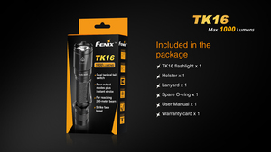 Image 5 - 2018 Nieuwe Fenix TK16 Cree Xm L 2 (U2) led Zaklamp 5 Mode Max 1000 Lumen Waterdicht Rescue Zoeken Tactical Torch Zaklamp