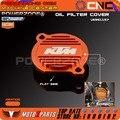 Заготовки Масляный Фильтр Крышка U6951157 Для KTM 250 SXF 2006-12 450 525 SX 2000 06 250 XCFW 2007 13 250 400 450 525 EXC 1999