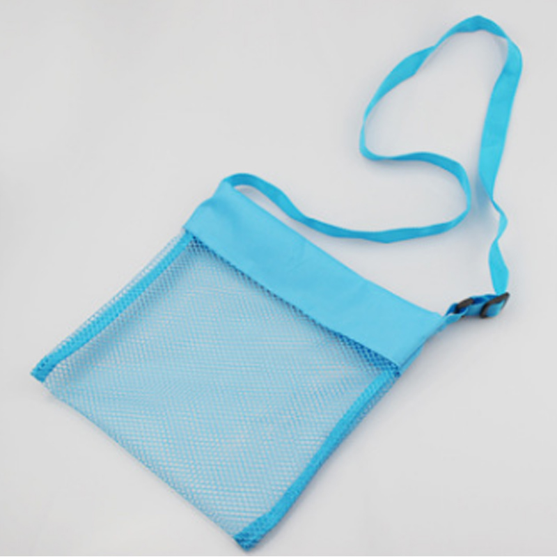 Home & Garden Wholesale 5colors Blanks Children Mesh Shell Beach Seashell Bag Kids Beach Toys Receive Bag Mesh Sandboxes Away 26*26cm Size Relieving Rheumatism And Cold