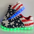 Women&Men LED Light Shoes Fashion Led Shoes USB Charge Glow Luminous Casual Shoes Womens LED Mens Chaussure Lumineuse