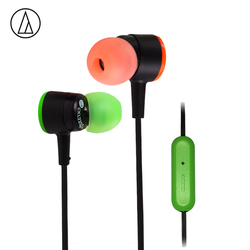 Original Audio Technica ATH-CKL220IS  Wired Earphone In-ear Android IOS Hifi With Wire Control With Microphone Singing Earphone