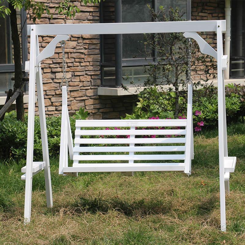 Barato exterior conservante columpio doble silla colgante - Columpios de exterior ...